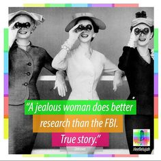 True story. Jealous Women, True Stories, Instagram Posts, Fun, Funny, Hilarious