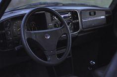 Dashboard Saab