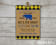 printable blue and gold banquet invitation cub scouts printable eagle pdf scouts cub. Black Bedroom Furniture Sets. Home Design Ideas