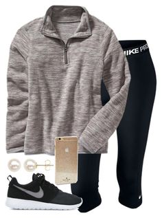 """""""I am too lazy to add anything else..."""" by hgw8503 ❤ liked on Polyvore featuring NIKE, Old Navy, Kate Spade, Honora, women's clothing, women, female, woman, misses and juniors"""