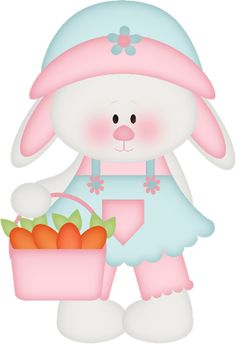 Bunny with carrots