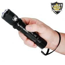 Special Offers - Police Force 5 Million Volt Rechargeable Tactical Flashlight Stun Gun w/ 160 Lumen Bright Light & Holster - In stock & Free Shipping. You can save more money! Check It (July 05 2016 at 12:04AM) >> http://flashlightusa.net/police-force-5-million-volt-rechargeable-tactical-flashlight-stun-gun-w-160-lumen-bright-light-holster/