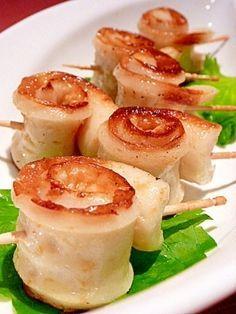 お弁当に☆ちくわのぐるぐる◎味噌バター焼き レシピ・作り方 by まめもにお|楽天レシピ Bento Recipes, Gourmet Recipes, Cooking Recipes, Unique Recipes, Asian Recipes, Cute Food, Yummy Food, Food Design, Diy Food