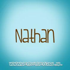 Nathan (Voor meer inspiratie, en unieke geboortekaartjes kijk op www.heyboyheygirl.nl)