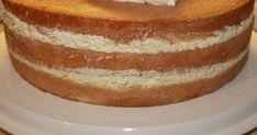 Mangotäyte: 200 g Valion mangotuorejuustoa (laktoositon) 200 g Valion vaniljarahka (laktoositon) 2 dl Valion laktoositonta vispikermaa 425 g... Vanilla Cake, Tart, Deserts, Baking, Cream, Sweet, Food, Creme Caramel, Candy