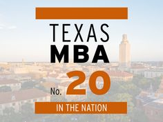McCombs School of Business is among the top 20 U.S. schools in the Financial Times ranking of full-time global MBA programs. #texasmba #whymccombs