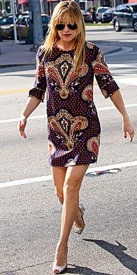 Mini dress - Kate Hudson's Summer Dresses - Stars' Summer Style - Fashion - InStyle
