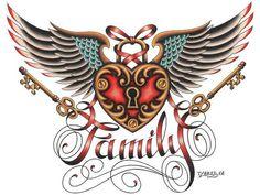 Title: Family Artist: Tyler BredewegFine art printed on heavy weight, 100 lb…