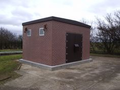 LPCB 1175 Series 7 SR3 Security Rated 'GRP Brick' Housing from Kingsley Plastics