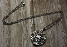 Essential Oil Diffuser Necklace- Aromatherapy Necklace- Stainless Steel Aromatherapy Necklace- Cage Locket Diffuser Necklace- Mandala Cage  Would you