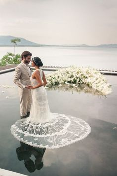 Just stunning: http://www.stylemepretty.com/little-black-book-blog/2016/03/24/romantic-fashionable-thailand-wedding-inspiration/ | Photography: Sandra Aberg - http://www.sandraaberg.com/: