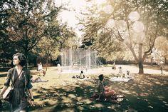 ARCH TRIUMPH PAVILION - London Design Competitions, Pavilion, Sustainability, Fields, Dolores Park, Public, London, Architecture, Travel