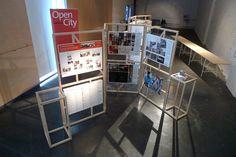 Modular Display Frames - Mobile Studio Architects