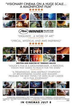 The Tree of Life , starring Brad Pitt, Sean Penn, Jessica Chastain, Hunter McCracken. The story of a family in Waco, Texas in 1956. The eldest son witnesses the loss of innocence and struggles with his parents' conflicting teachings. #Drama #Fantasy