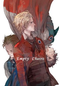 Les Miserables - Empty chairs by prema-ja.deviantart.com on @deviantART
