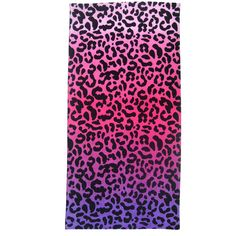 Cheetah beach towel. My nieces have these! Love them!!