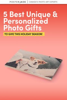 We've put together a list of our favourite photo gifts for this holiday season! Get your loved ones something they're sure to love and cherish forever!