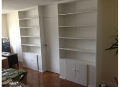temporary storage bookcase walls