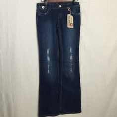 "⬇️Price Drop True Addiction Boot Cut distressed Brand new with tags. They are a size 3 with 31"" inseam. True Addiction Jeans Boot Cut"