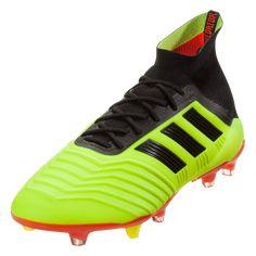 the latest 616d4 9b76c adidas Predator 18.1 FG Soccer Cleat Solar Yellow Core Black Solar Red-12.5