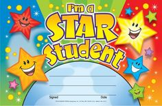 I'm a Star Student Recognition Awards. Reward your students for their special achievements!