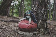 Kudy z nudy - Pohádkový les Bílina Czech Republic, Garden Sculpture, Outdoor Decor, Travel, Viajes, Destinations, Traveling, Trips, Bohemia