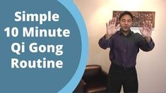 Simple Qigong Routine - Easy Home 10 Minute Practice for balancing Qi with Jeffrey Chand Qi Gong, Tai Chi Moves, Tai Chi Exercise, Learn Tai Chi, Tai Chi For Beginners, Tai Chi Qigong, How To Increase Energy, Easy Workouts, Yoga Meditation