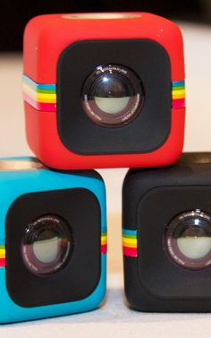 Polaroid's Tiny Little Camera Cube Is Cute As Candy
