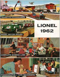 Lionel Trains catalog cover 1962