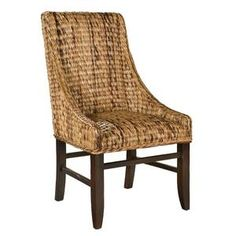 Merveilleux Hekman Ponderosa Square Banana Leaf Chair, HK 1 3026