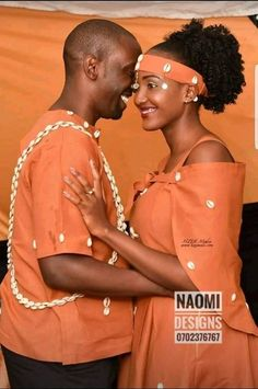 King and her queen. African Bridal Dress, African Lace Dresses, African Outfits, African Attire, African Fashion Dresses, African Wear, Bridal Dresses, Traditional Wedding Attire, African Traditional Wedding
