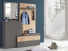 CLARA II Garderobenset grau/Planked Eiche  DETAIL_IMAGE