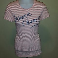 JCREW STRIPED TEE Cute graphic tee , soft and comfy jcrew Tops Tees - Short Sleeve
