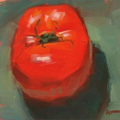 """Daily Paintworks - """"In Your Face --- SOLD"""" - Original Fine Art for Sale - © Carol Marine"""