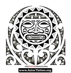Aztec Wristband Tattoos 08 - http://aztectattoo.org/aztec-wristband-tattoos-08/