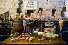 Masculine Tables - Male Party Inspiration! - Paperblog