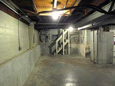 Spooky to fab basement redo inspiration