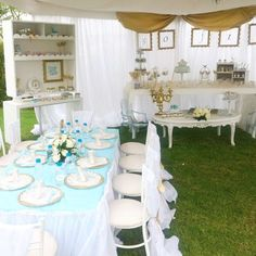 Cinderella Party Table fit for a princess! | CatchMyParty.com