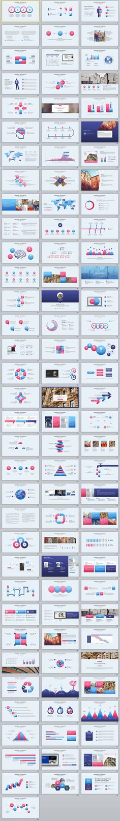 100+ Best multicolor Infographics PowerPoint templates
