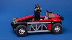 LEGO MOC 75894 Red Buggy by Keep On Bricking | Rebrickable - Build with LEGO Brick Saw, Lego Parts, Lego Moc, Classic Mini, Cars, Red, Lego Pieces, Autos, Car