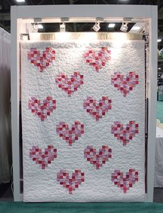 227 Best Hearts Valentine Quilts Images Heart Quilts Baby