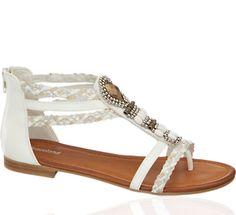77bb265e4c52 Cute Gold Sandals