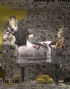 "TSUM, Moscow, ""Fashion Tribune"", pinned by Ton van der Veer"