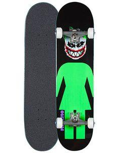 GIRL Spitfire Mike Mo Joker Full Complete Skateboard Multi