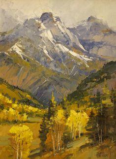 Mountain Autumn Study, 16 x 12 oil