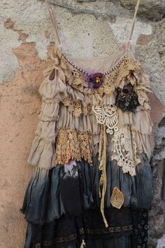 Summerstormbohemio túnica chic shabby bordados y detalles