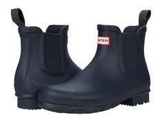 Mens Hunter Boots, Hunter Chelsea Rain Boots, Mens Rain Boots, Chelsea Boots, Hunter Original, Easy Wear, Natural Rubber, Signature Logo, Euro