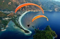 Paragliding from Mount Babadag