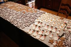 and MORE Christmas cookies 2012