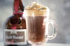 Just tell Grandma you're drinking hot chocolate- this one is just filled with Grand Marnier. (Photo Credit Nanea Hoffman) #OffTheRock http://sweatpantsandcoffee.com/inspiration/off-the-rock-home-for-the-holidays/